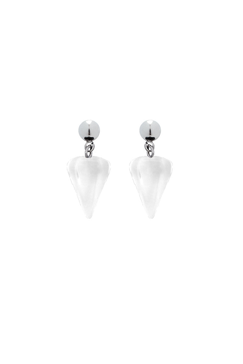 Pendulum Stud Earrings