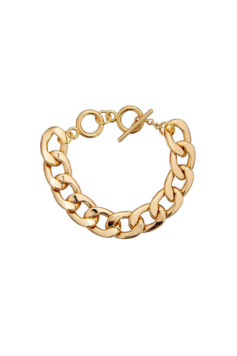 ** Not Quite Right Sale ** Slim Chain Bracelet