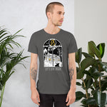 Load image into Gallery viewer, Let's Stay Inside Unisex T-Shirt (white print)