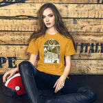 Load image into Gallery viewer, Let's Stay Inside Unisex T-Shirt (vintage print)