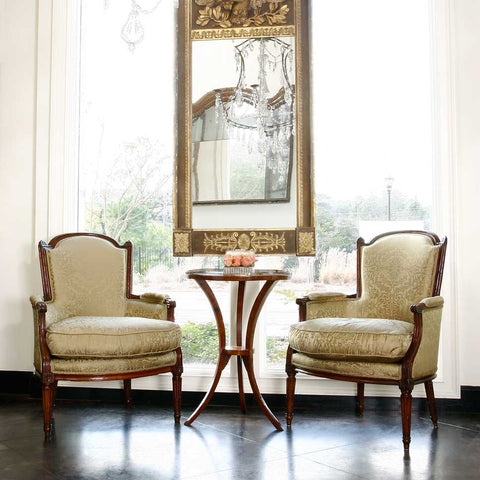 Antique Chairs and Mirrors