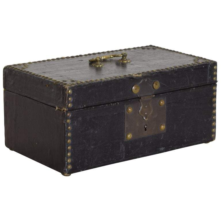 Canvas Covered Locking Box