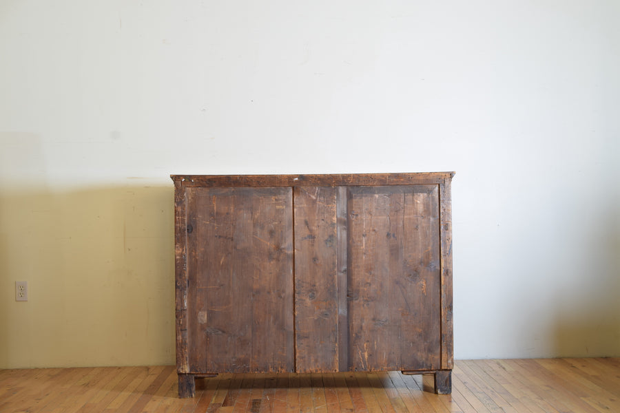 Biedermeier Influenced Light Walnut Commode