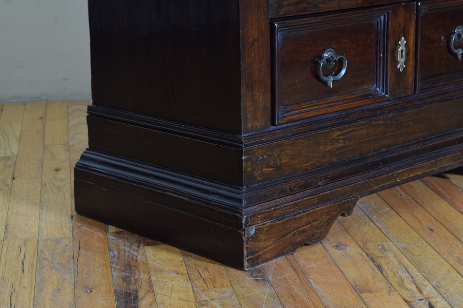 Walnut 3-Drawer Commode of Smaller Size