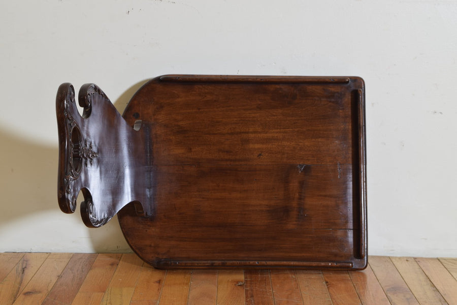 Mahogany Library Book Carrier