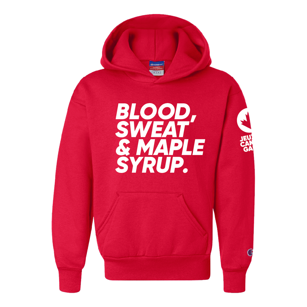 Maple Syrup Hoodie, Youth