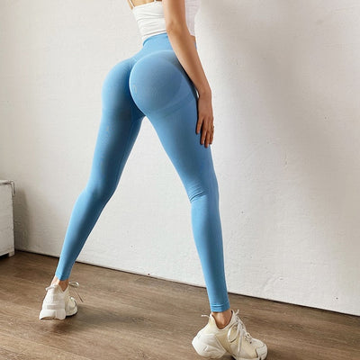 High Waist Gym Workout Leggings - NBS