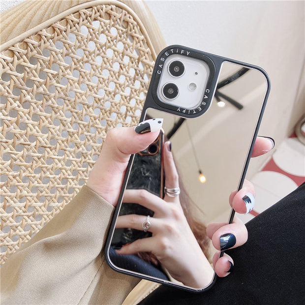 Anti-fall makeup mirror phone Case for iphone - NBS