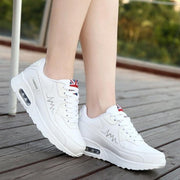 Flat Sporty Woman Sneakers Lace Up Running Shoes - NBS