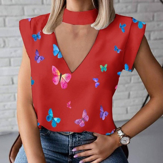 Printed Blouse - NBS