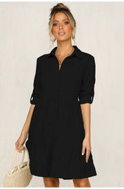 Long Sleeve Mini Dress - NBS