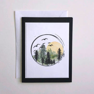 forest-sunset-card