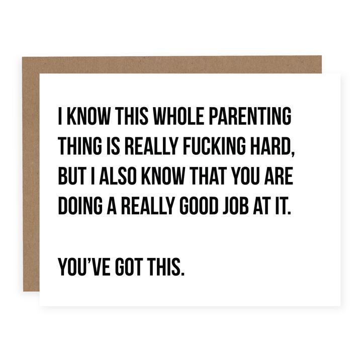 Parenting is Hard Card