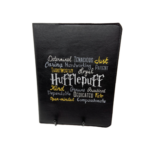 Hufflepuff Notebook Cover