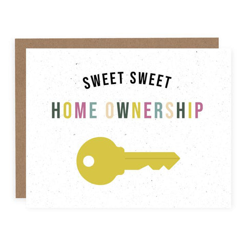 Sweet Sweet Home Ownership Card