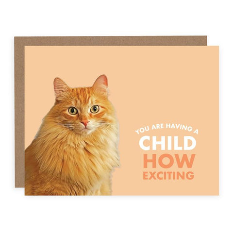 You Are Having a Child Card