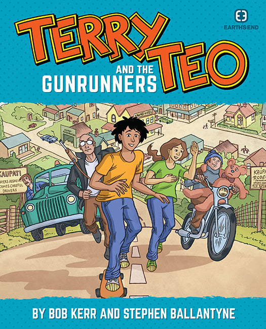 Terry Teo and the Gunrunners by BOB KERR & STEPHEN BALLANTYNE