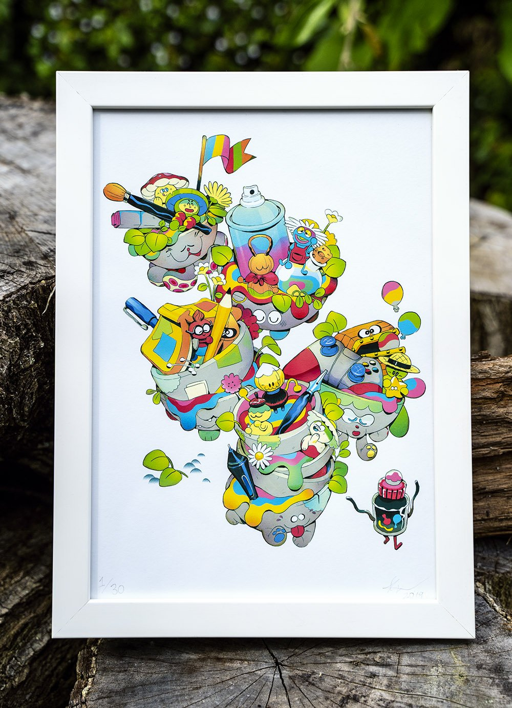 'Magic Pots' | Ed.30 Giclée Print