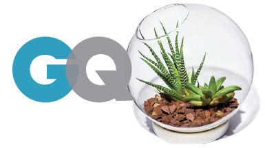 Chive Table top Terrarium - Featured in GQ Magazine