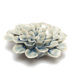 Chive Coral - Flower Blue, Ceramic
