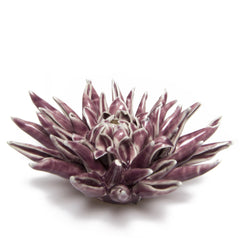Chive Coral - Flower Purple, Ceramic