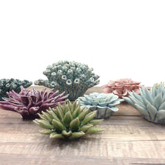 Chive Coral  Group, Ceramic