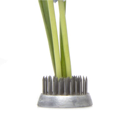 Chive, Frog - Small stainless steel floral arrangement