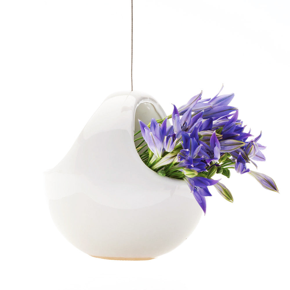 Hanging Aerium - Nest White
