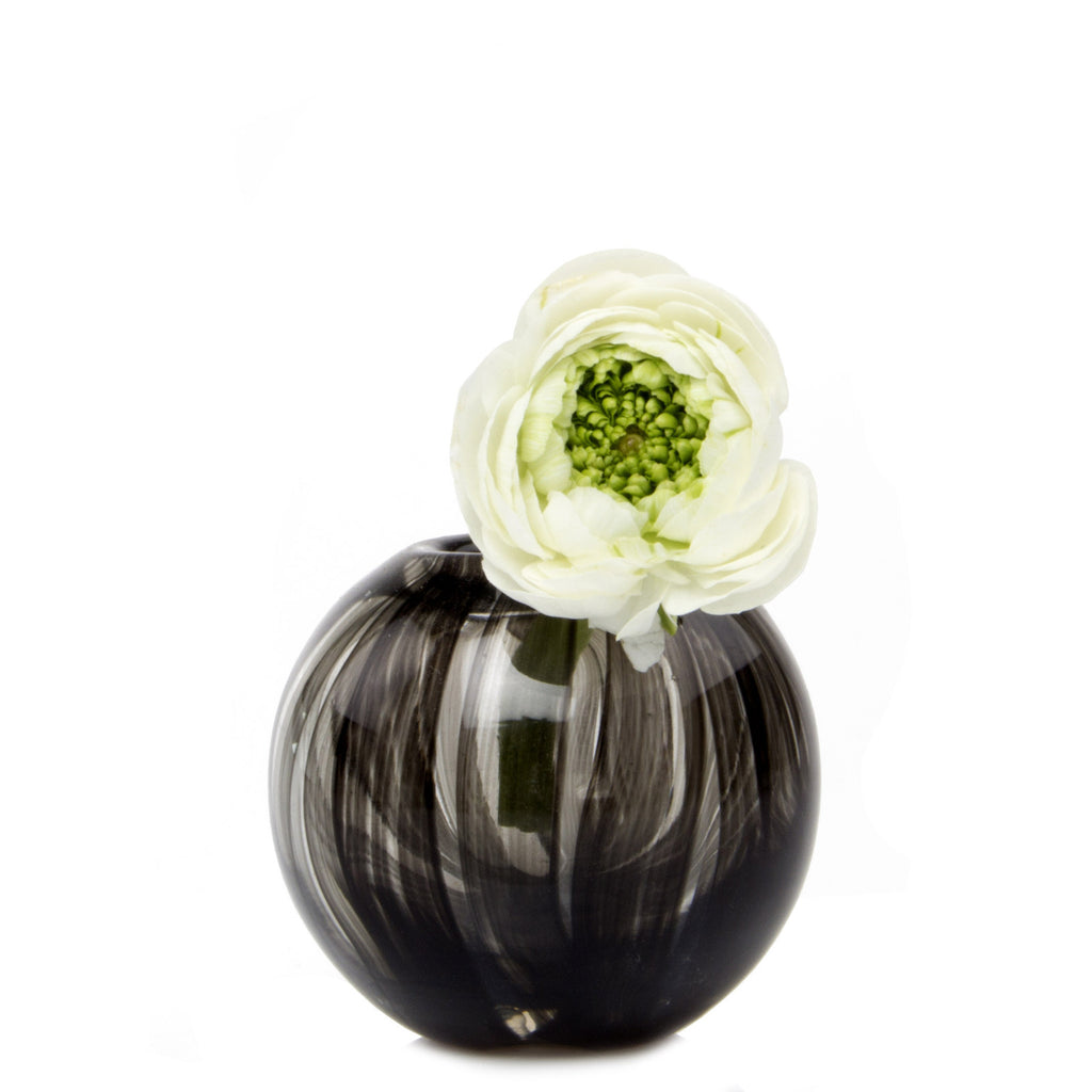 Ligne - Sphere Black, Heavy Glass Event Vase