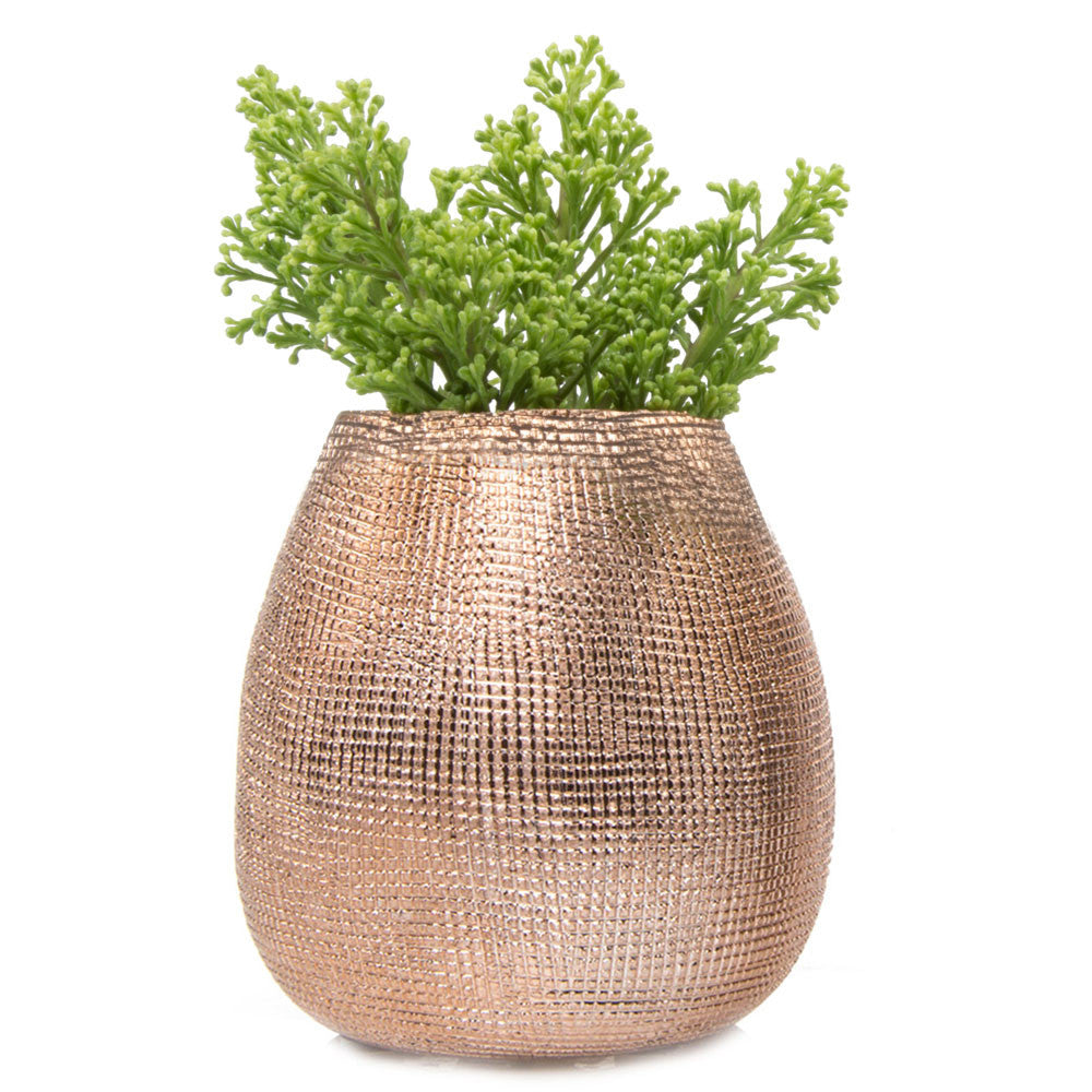 Mesh Pot - Rose Gold