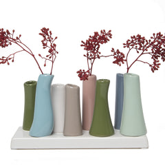 Chive,  Pooley 2 - Cedar, Oprah, Ceramic Flower Vase