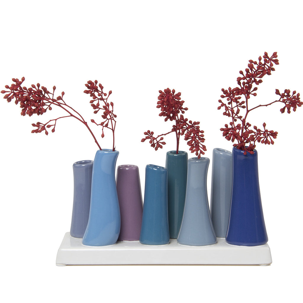 Chive,  Pooley 2 - Cobalt, Ceramic Flower Vase *Winter 2015*