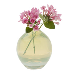Chive Pearl - Large Mint modern glass event wedding heavy vase