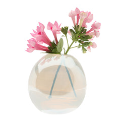 Chive Pearl - Small Ice modern glass event wedding heavy vase