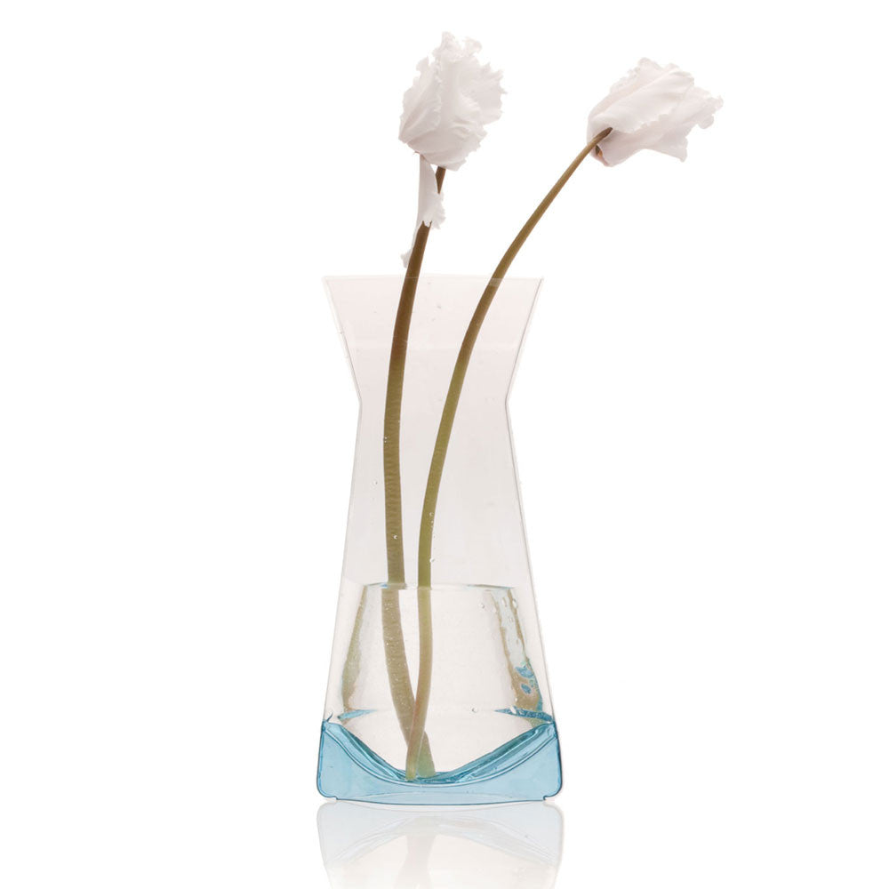 Chive Plastic - Small Blue Flower Vase