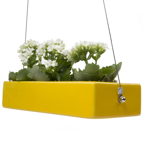 Ragna - Hanging Planter Yellow