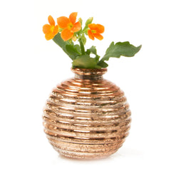 Smasak - Gold, Ceramic Decorative Event Bud Vase