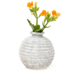 Smasak - Milk, Ceramic Decorative Event Bud Vase