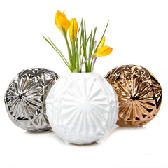 Chive, Starball - ceramic decorative flower vase