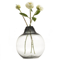 Chive Supreme Corona - Smoke Large Heavy Glass Modern Vase
