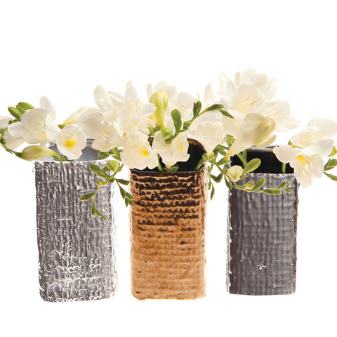 Weave - Assorted 3 pack - Bronze, Chrome, Silver