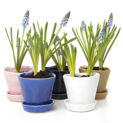 Tika Planter - Azure Blue