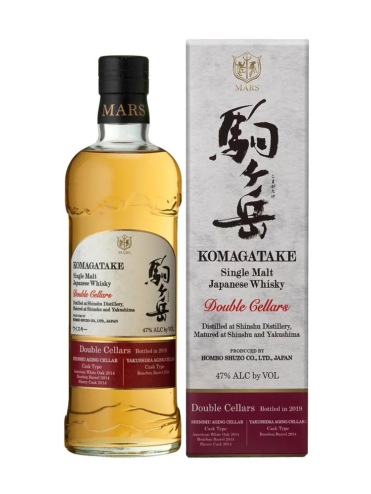 Mars Single Malt Komagatake Double Cellars Bottled in 2019