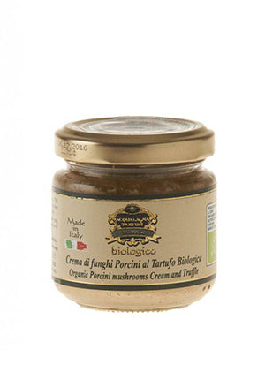 Vorrei italian jar of Organic Truffle and Porcini Sauce