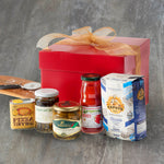 Vorrei Italian pizza kit hamper with pizza ingredients and recipe