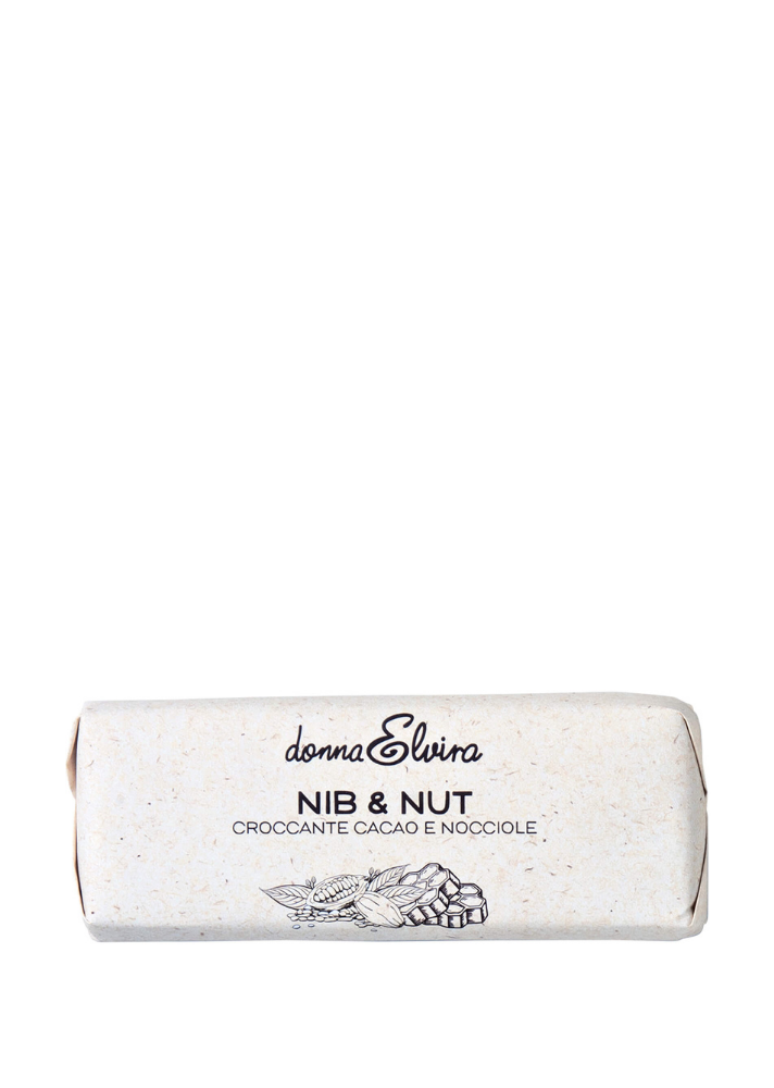 'Nib & Nut' Natural Hazelnut, Cocoa Nib & Honey Bar