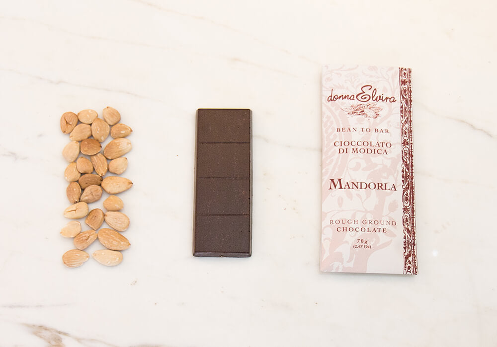 Modican Chocolate with Avola Almonds