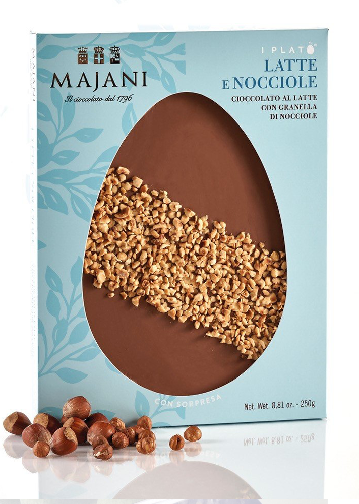 Majani milk chocolate flat egg