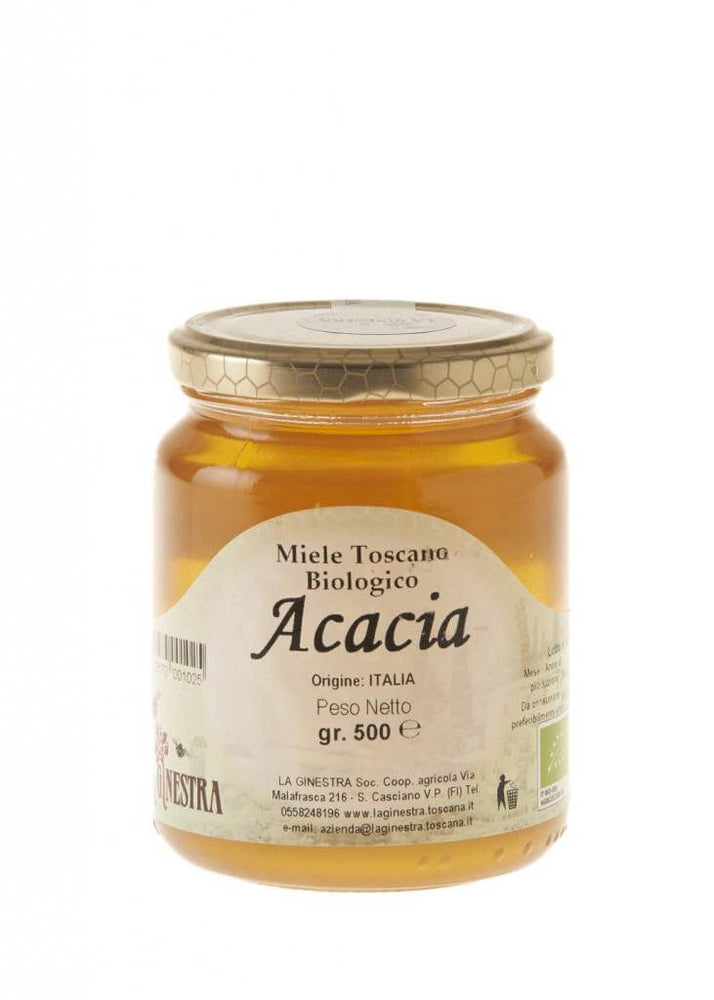 Vorrei italian Organic Acacia Honey from Tuscany