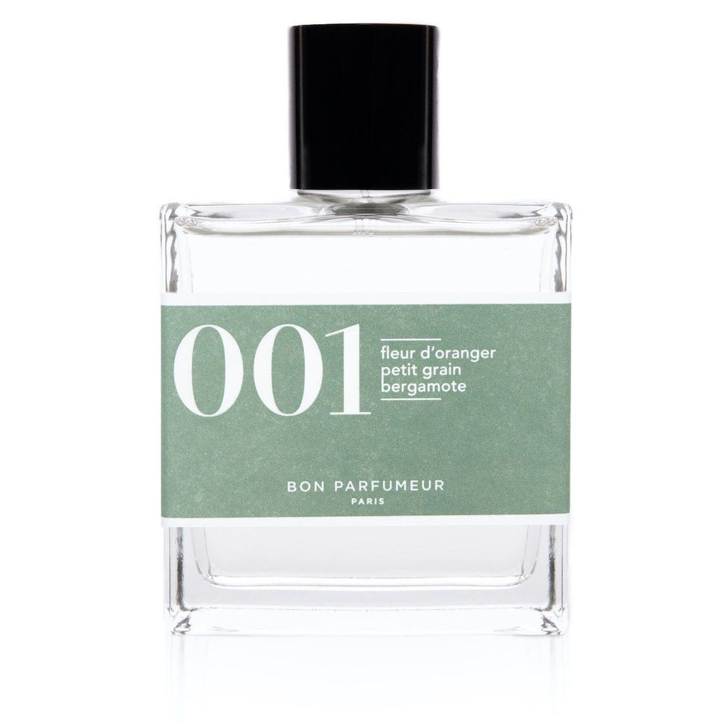 Eau de parfum 001: orange blossom, petitgrain and bergamot